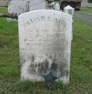 HARE (CW), WILLIAM B, - Montgomery County, Pennsylvania | WILLIAM B, HARE (CW) - Pennsylvania Gravestone Photos