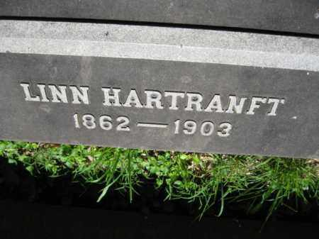 HARTRANFT, LINN - Montgomery County, Pennsylvania | LINN HARTRANFT - Pennsylvania Gravestone Photos