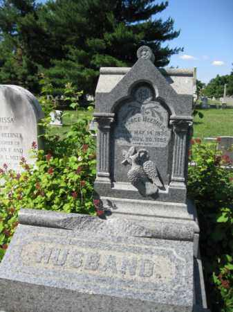 HEEBNER (CW), GEORGE - Montgomery County, Pennsylvania | GEORGE HEEBNER (CW) - Pennsylvania Gravestone Photos