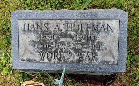 HOFFMAN, HANS A. - Montgomery County, Pennsylvania | HANS A. HOFFMAN - Pennsylvania Gravestone Photos