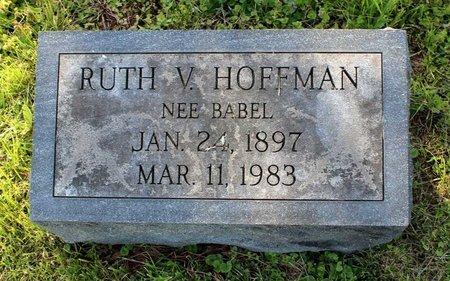 HOFFMAN, RUTH V. - Montgomery County, Pennsylvania | RUTH V. HOFFMAN - Pennsylvania Gravestone Photos