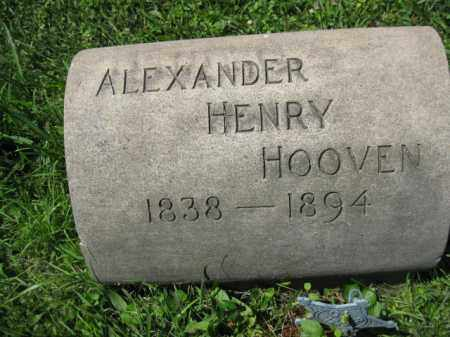 HOOVEN (CW), ALEXANDER HENRY - Montgomery County, Pennsylvania | ALEXANDER HENRY HOOVEN (CW) - Pennsylvania Gravestone Photos