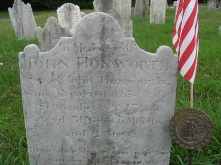 HOZWORTH, JOHN - Montgomery County, Pennsylvania | JOHN HOZWORTH - Pennsylvania Gravestone Photos