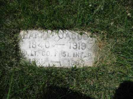 JACOBS (CW), HARRY (HENRY) - Montgomery County, Pennsylvania | HARRY (HENRY) JACOBS (CW) - Pennsylvania Gravestone Photos