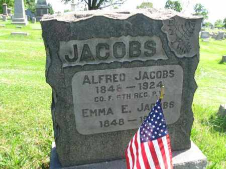 JACOBS (SAW), ALFRED - Montgomery County, Pennsylvania | ALFRED JACOBS (SAW) - Pennsylvania Gravestone Photos