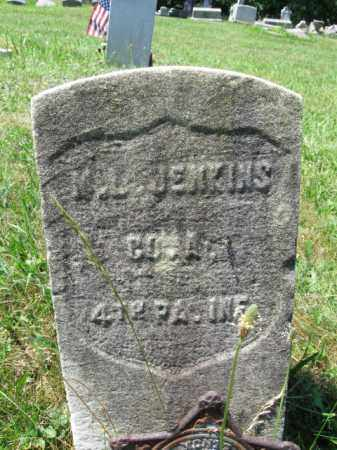 JENKINS (CW), MAJOR L. - Montgomery County, Pennsylvania | MAJOR L. JENKINS (CW) - Pennsylvania Gravestone Photos