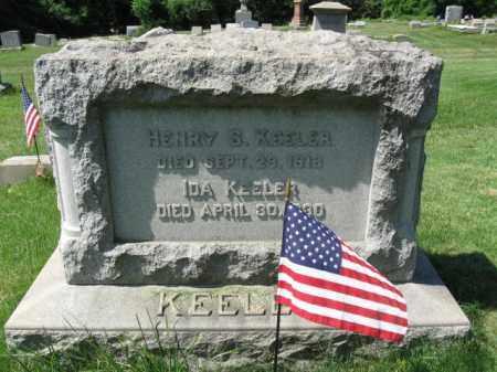 KEELER (CW), HENRY - Montgomery County, Pennsylvania | HENRY KEELER (CW) - Pennsylvania Gravestone Photos