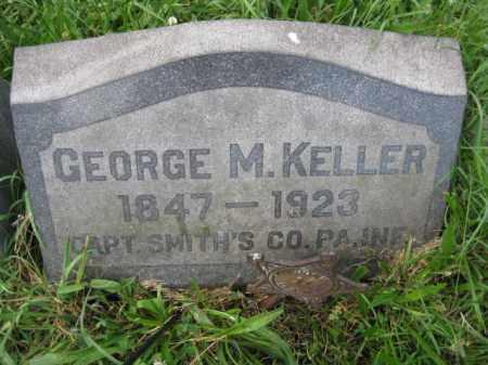 KELLER (CW), GEORGE M. - Montgomery County, Pennsylvania | GEORGE M. KELLER (CW) - Pennsylvania Gravestone Photos