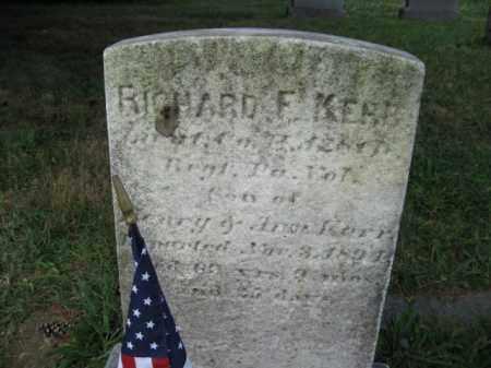 KERR (CW), RICHARD F. - Montgomery County, Pennsylvania   RICHARD F. KERR (CW) - Pennsylvania Gravestone Photos