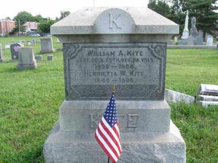 KITE (CW), WILLIAM A. - Montgomery County, Pennsylvania | WILLIAM A. KITE (CW) - Pennsylvania Gravestone Photos