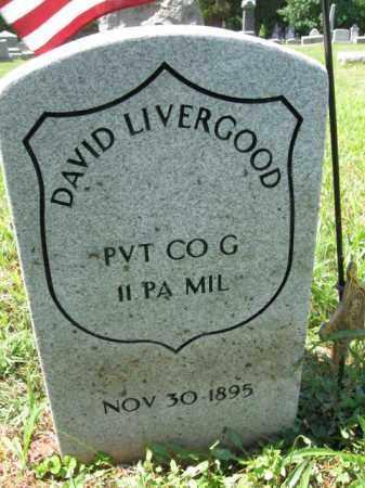 LIVERGOOD (LEVENGOOD) (CW), DAVID - Montgomery County, Pennsylvania | DAVID LIVERGOOD (LEVENGOOD) (CW) - Pennsylvania Gravestone Photos