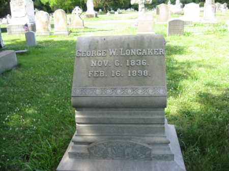 LONGAKER (CW), GEORGE W. - Montgomery County, Pennsylvania | GEORGE W. LONGAKER (CW) - Pennsylvania Gravestone Photos