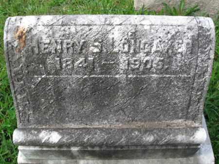 LONGAKER (CW), HENRY S. - Montgomery County, Pennsylvania | HENRY S. LONGAKER (CW) - Pennsylvania Gravestone Photos