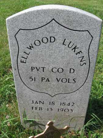 LUKENS (CW), ELLWOOD (ELWOOD) - Montgomery County, Pennsylvania   ELLWOOD (ELWOOD) LUKENS (CW) - Pennsylvania Gravestone Photos
