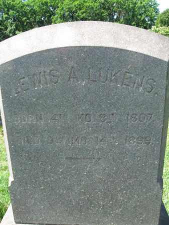 LUKENS, LEWIS A. - Montgomery County, Pennsylvania   LEWIS A. LUKENS - Pennsylvania Gravestone Photos