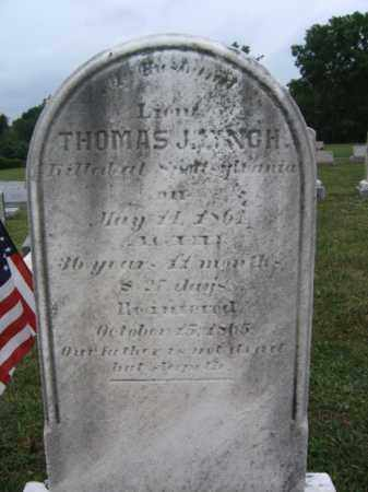 LYNCH  (CW), THOMAS - Montgomery County, Pennsylvania | THOMAS LYNCH  (CW) - Pennsylvania Gravestone Photos