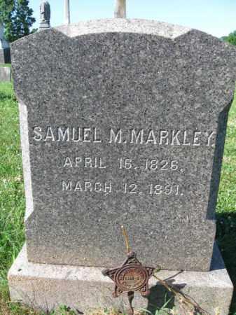 MARKLEY (CW), SAMUEL M. - Montgomery County, Pennsylvania | SAMUEL M. MARKLEY (CW) - Pennsylvania Gravestone Photos