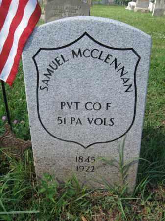 MCCLENNAN (CW), SAMUEL - Montgomery County, Pennsylvania   SAMUEL MCCLENNAN (CW) - Pennsylvania Gravestone Photos