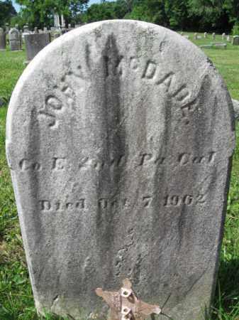 MCDADE (CW), JOHN - Montgomery County, Pennsylvania | JOHN MCDADE (CW) - Pennsylvania Gravestone Photos