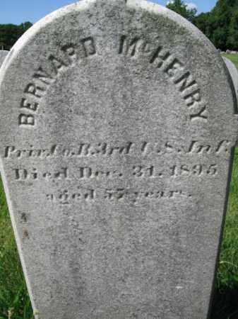 MCHENRY (CW), BERNARD - Montgomery County, Pennsylvania   BERNARD MCHENRY (CW) - Pennsylvania Gravestone Photos
