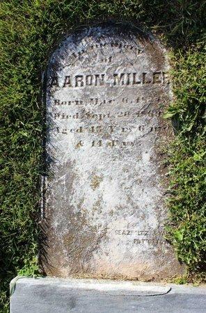 MILLER, AARON - Montgomery County, Pennsylvania   AARON MILLER - Pennsylvania Gravestone Photos