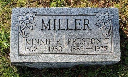 MILLER, PRESTON T. - Montgomery County, Pennsylvania | PRESTON T. MILLER - Pennsylvania Gravestone Photos