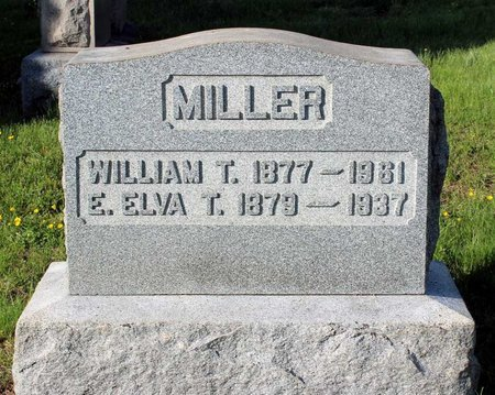 MILLER, WILLIAM T. - Montgomery County, Pennsylvania | WILLIAM T. MILLER - Pennsylvania Gravestone Photos