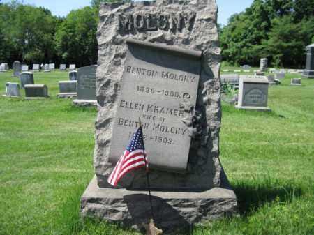 MOLONY (MALONEY) (CW), BENTON - Montgomery County, Pennsylvania | BENTON MOLONY (MALONEY) (CW) - Pennsylvania Gravestone Photos