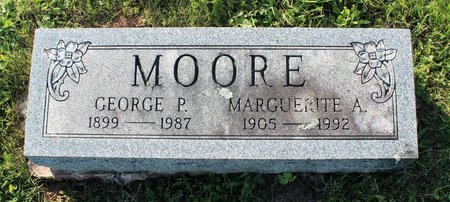 MOORE, GEORGE P. - Montgomery County, Pennsylvania | GEORGE P. MOORE - Pennsylvania Gravestone Photos