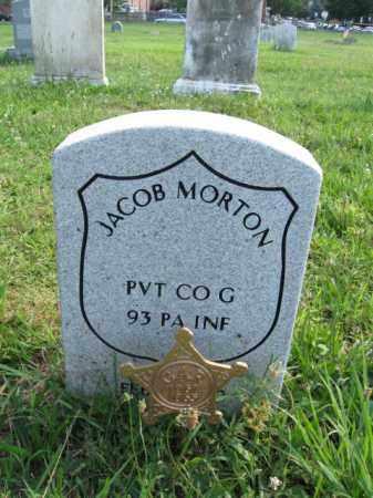 MORTON (WC), JACOB - Montgomery County, Pennsylvania | JACOB MORTON (WC) - Pennsylvania Gravestone Photos