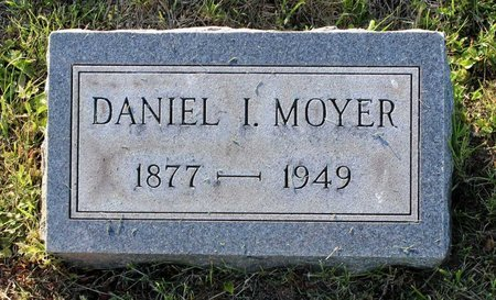MOYER, DANIEL I. - Montgomery County, Pennsylvania | DANIEL I. MOYER - Pennsylvania Gravestone Photos