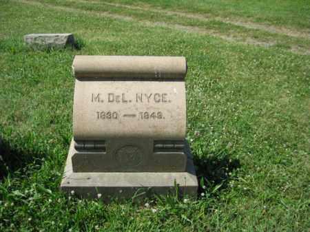 NUCE, M. DEL - Montgomery County, Pennsylvania   M. DEL NUCE - Pennsylvania Gravestone Photos