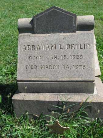 ORTLIP (CW), ABRAHAM L. - Montgomery County, Pennsylvania | ABRAHAM L. ORTLIP (CW) - Pennsylvania Gravestone Photos