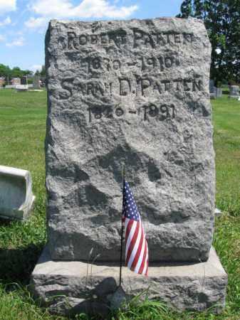 PATTEN (CW), ROBERT - Montgomery County, Pennsylvania | ROBERT PATTEN (CW) - Pennsylvania Gravestone Photos