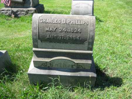 PHILLIPS, CHARLES D. - Montgomery County, Pennsylvania | CHARLES D. PHILLIPS - Pennsylvania Gravestone Photos