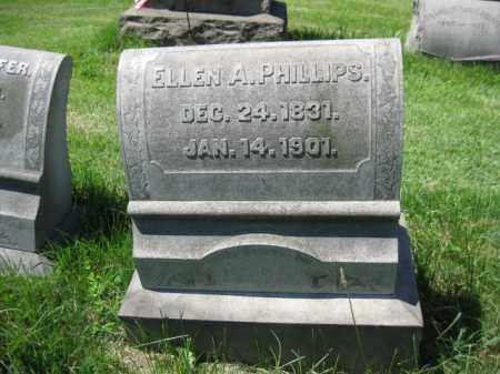 PHILLIPS, ELLEN A. - Montgomery County, Pennsylvania | ELLEN A. PHILLIPS - Pennsylvania Gravestone Photos