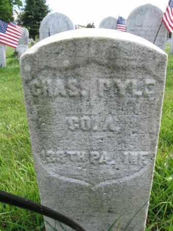 PYLE (CW), CHARLES - Montgomery County, Pennsylvania   CHARLES PYLE (CW) - Pennsylvania Gravestone Photos