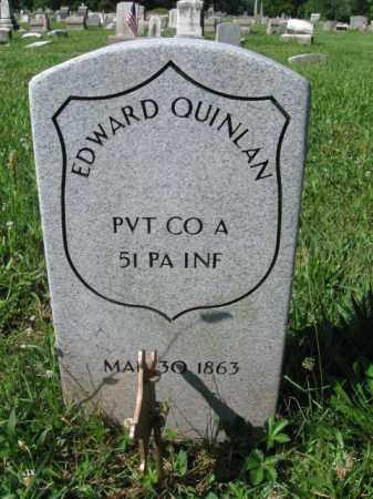 QUINLAN (CW), EDWARD - Montgomery County, Pennsylvania   EDWARD QUINLAN (CW) - Pennsylvania Gravestone Photos