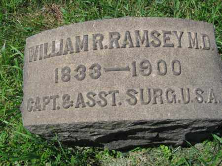 RAMSEY (CW), WILLIAM R. - Montgomery County, Pennsylvania | WILLIAM R. RAMSEY (CW) - Pennsylvania Gravestone Photos