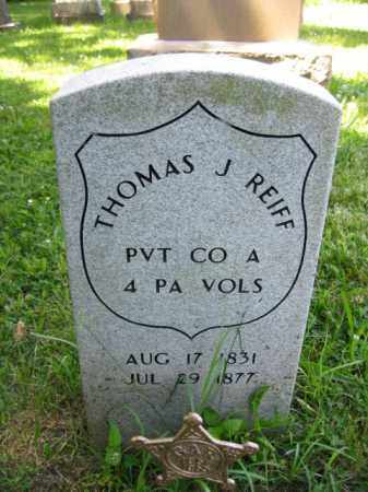 REIFF (CW), THOMAS J. - Montgomery County, Pennsylvania   THOMAS J. REIFF (CW) - Pennsylvania Gravestone Photos