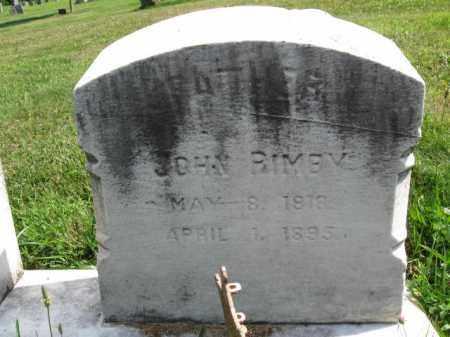 RIMBY  (CW), JOHN - Montgomery County, Pennsylvania   JOHN RIMBY  (CW) - Pennsylvania Gravestone Photos