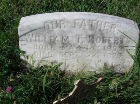 ROBERTS (CW), WILLIAM T. - Montgomery County, Pennsylvania   WILLIAM T. ROBERTS (CW) - Pennsylvania Gravestone Photos