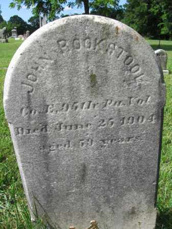 ROOKSTOOL (CW), JOHN - Montgomery County, Pennsylvania   JOHN ROOKSTOOL (CW) - Pennsylvania Gravestone Photos