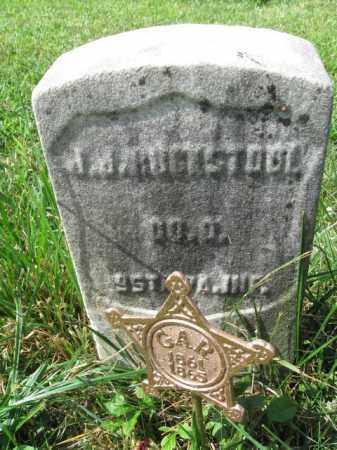 ROOKSTOOL (RUCKSTOOL) (CW), JAMES J. - Montgomery County, Pennsylvania | JAMES J. ROOKSTOOL (RUCKSTOOL) (CW) - Pennsylvania Gravestone Photos