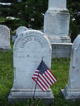 SCHALL (CW), EDWARD - Montgomery County, Pennsylvania   EDWARD SCHALL (CW) - Pennsylvania Gravestone Photos
