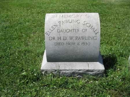 SCHALL, ELLEN - Montgomery County, Pennsylvania   ELLEN SCHALL - Pennsylvania Gravestone Photos