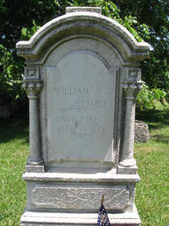 SCHALL, WILLIAM - Montgomery County, Pennsylvania | WILLIAM SCHALL - Pennsylvania Gravestone Photos