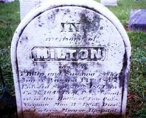 SELLERS (CW), PVT. MILTON - Montgomery County, Pennsylvania   PVT. MILTON SELLERS (CW) - Pennsylvania Gravestone Photos