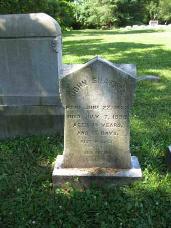 SHAFFER, JOHN - Montgomery County, Pennsylvania | JOHN SHAFFER - Pennsylvania Gravestone Photos