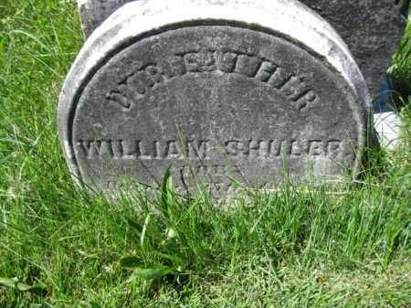 SHULER, WILLIAM - Montgomery County, Pennsylvania | WILLIAM SHULER - Pennsylvania Gravestone Photos